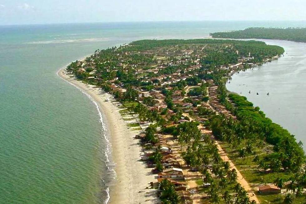 Praia da Ilha da Crôa Alagoas