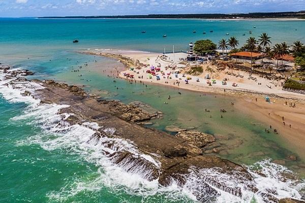Praia de Coruripe AL