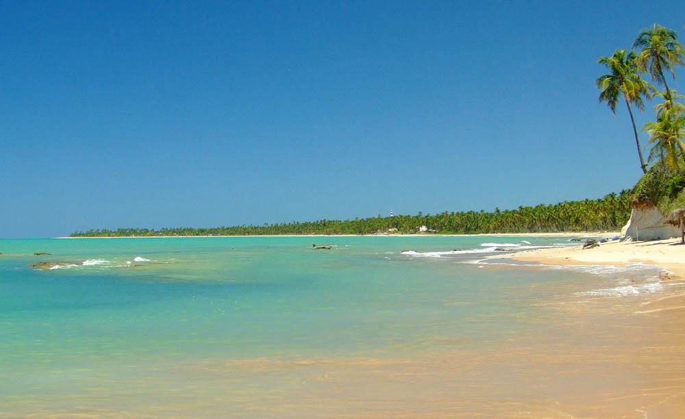 Praia de Japaratinga Alagoas