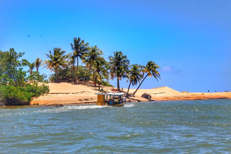 Praia do Delta do São Francisco Alagoas