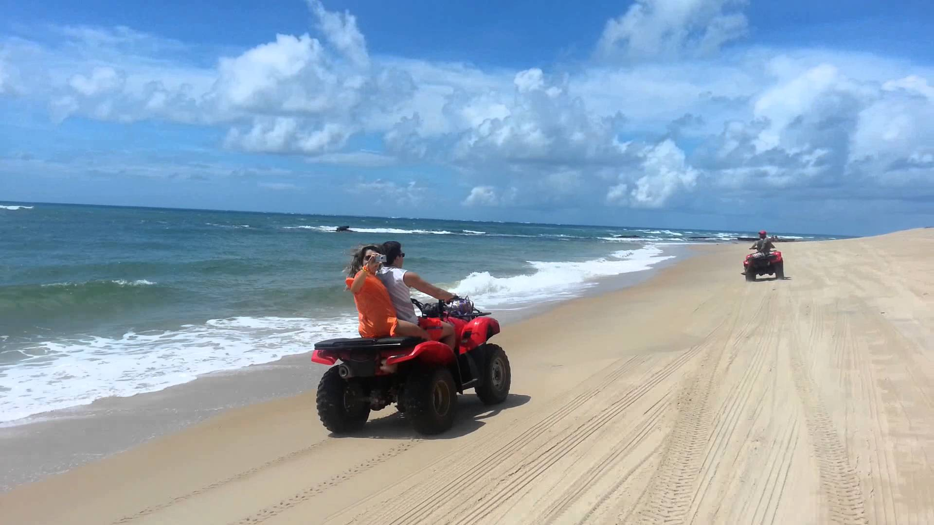 Passeio de quadriciclo em Alagoas