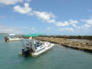 Passeio de lancha em Alagoas